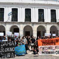 Córdoba: reclamo de artesanos a la Municipalidad
