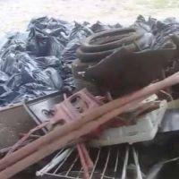 Carlos Paz: El basural clandestino que deben limpiar todos los meses