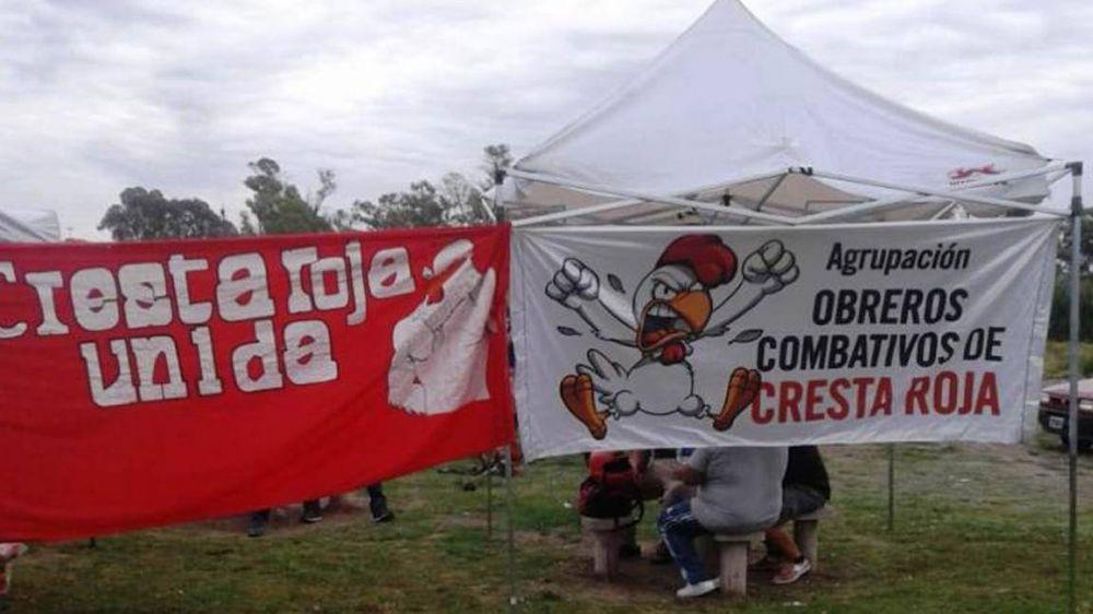 Trabajadores despedidos de Cresta Roja acampan en Plaza de Mayo