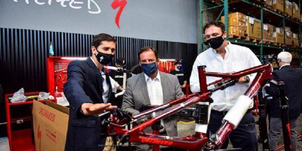 Empleo: empresa líder mundial en bicicletas inauguró nueva planta para incrementar su producción en un 50%