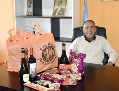 Trabajadores de Obras Sanitarias comenzaron a recibir bolsas navideñas de Sitos