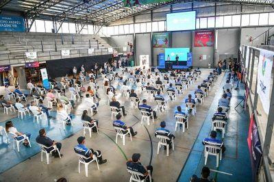 Ariel Sujarchuk presentó el Programa Nacional de Entrega Voluntaria de Armas de Fuego en Escobar