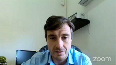 Lucas Ghi y su balance sobre la pandemia: «La política ha estado a la altura del desafío»