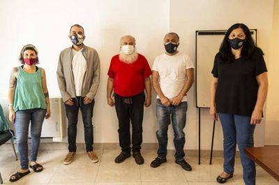 "Fabián ""Moncho"" Alessandrini se sumó al Movimiento Evita"