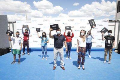 Nueva entrega de netbooks para alumnos de La Matanza