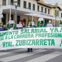Trabajadores de los 34 hospitales porteños nucleados en ATE van al paro en reclamo de