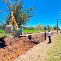 El municipio asegura que realizó 470 km de caminos rurales en el año