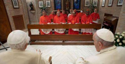 """Benedicto XVI: """"El Señor me ha quitado la palabra para hacerme apreciar el silencio"""""""