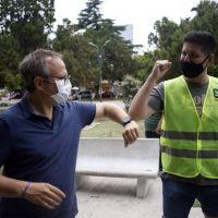 Valenzuela otorgó 8 por ciento de aumento a municipales de Tres de Febrero y un bono Covid