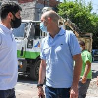 El Municipio de San Fernando llevó adelante un operativo integral de limpieza en el barrio San Lorenzo
