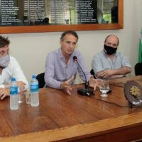 Katopodis firmó convenio de obras para General Rodríguez, Marcos Paz y Suipacha