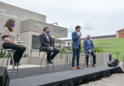 San Fernando: Andreotti y Massa inauguraron la Fiscalía y Comisaría de la Mujer y la Familia