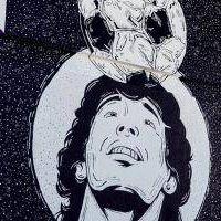Maradona eterno: Siguen los homenajes en la Provincia con renombramientos de plazas, polideportivos y murales