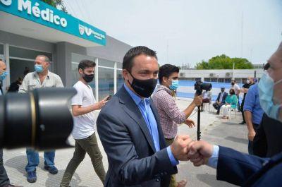 Florencio Varela: el intendente Watson junto al gobernador Kicillof inauguraron la Subdelegación de la Policía Científica