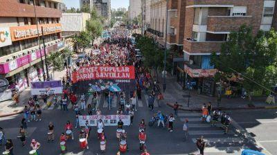 Jornada de movilizaciones en la ciudad de Córdoba