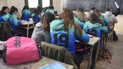 La Provincia pretende que las clases arranquen con presencialidad plena