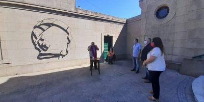 Instalan la obra El Quiebre en la iglesia de la ciudad