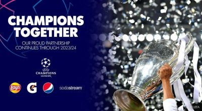 PepsiCo renueva su alianza con la UEFA hasta 2024