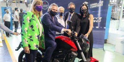 Empleo: anuncian millonaria inversión para fabricar en el país cuatro modelos de la marca de motos Kawasaki