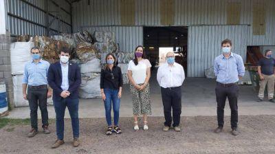 La provincia avanza con el relevamiento de plantas de residuos