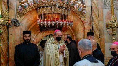 El Patriarca Pizzaballa ingresa al Santo Sepulcro: necesario un renovado ímpetu pastoral