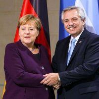 """El pedido de Merkel a Alberto para que Argentina recupere """"la confianza de los acreedores"""""""