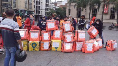 Trabajadores de Rappi reclaman por el aumento del 100% de la base por pedido