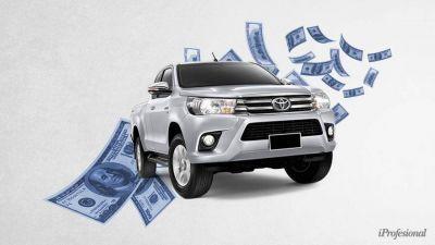 Cayó el blue y subieron los precios en pesos, ¿conviene comprar ahora una camioneta con dólares en la mano?