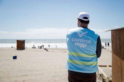 Realizan controles en accesos, playas y corredores gastronómicos por el fin de semana largo
