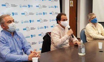 Llamosas confía en que la primera quincena de enero pueda haber disposición de vacunas contra el Covid-19 en Río Cuarto