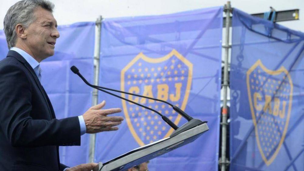 Macri se mete en Boca para liderar a la oposición, aunque no sería candidato en 2023