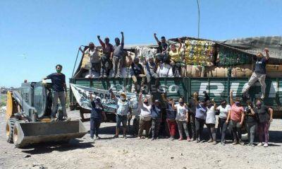 Partió la primera carga de residuos tratados de la planta GIRSU de Viedma