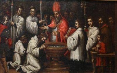San Ambrosio, un día era el gobernador civil, pero ocho días después era el Arzobispo más importante del mundo