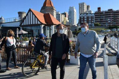 Valenzuela por la costa: intercambio de experiencias y fuertes lazos con el radicalismo