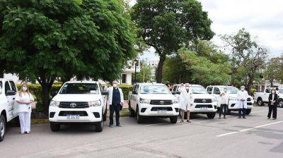 Hospitales del interior recibieron camionetas