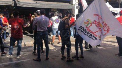Jornada agitada en el microcentro con protestas de SEOC