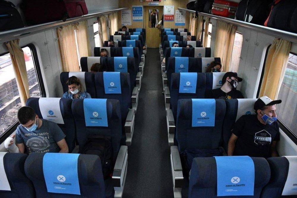 Furor por el tren, la opción más barata para viajar a Mar del Plata