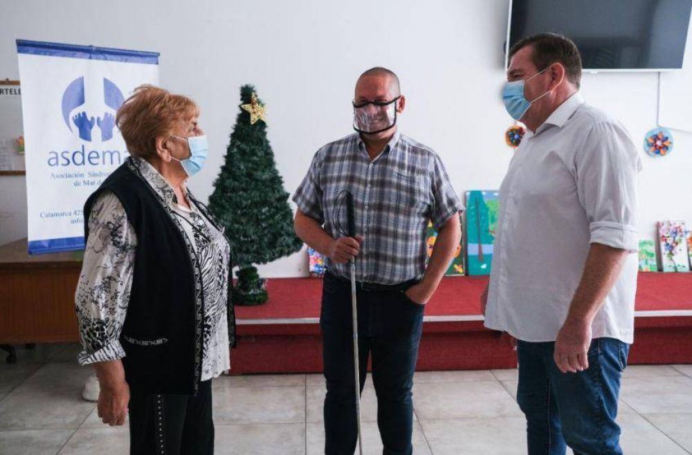 El Municipio destacó el trabajo conjunto con organizaciones de la ciudad