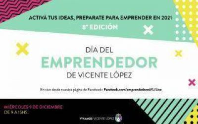 Vicente López celebra el día del emprendedor con talleres y conferencias para los comerciantes locales