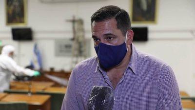 San Isidro: tareas de desinfección y sanitización en el Concejo Deliberante