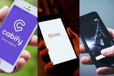 Escobar le cobrará una tasa a las app de movilidad como Uber, Cabify y Didi