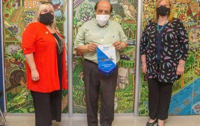 El Rotary Club reconoció a Mussi como servidor público