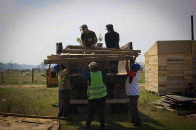 El gobierno de Moreno relocalizó a familias que tomaban un predio en Las Catonas