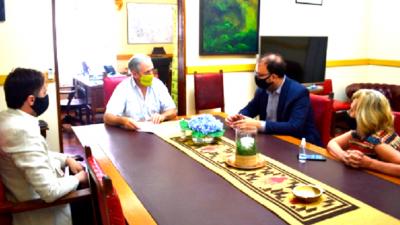 El Intendente se reunió con el Director del Observatorio de la Juventud de la Cámara de Diputados