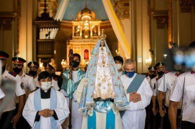 Miles de fieles en el cierre virtual del Año Mariano Nacional
