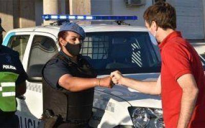 En lo que va del año, Lucas Ghi ya entregó 22 vehículos a la Policía Bonaerense para reforzar la seguridad en Morón