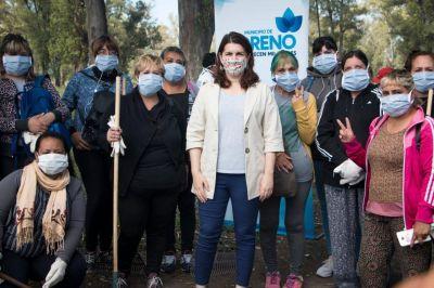 El Municipio de Moreno lanzó el voluntariado ambiental junto a Cascos Blancos