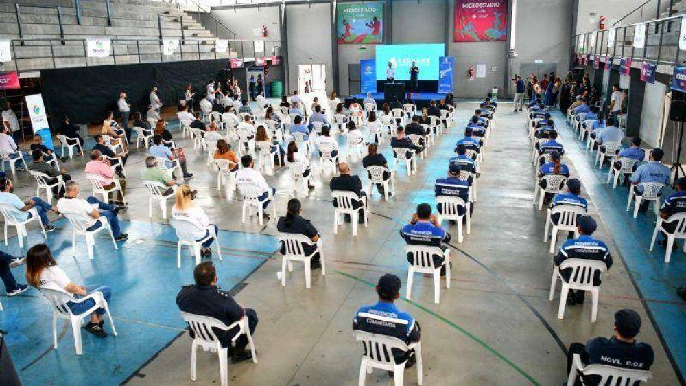 Ya comenzó el Programa Nacional de Entrega Voluntaria de Armas de Fuego en el partido de Escobar