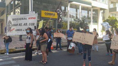 Lomas: Trabajadores de ATE Sur reclaman el pago del bono a esenciales