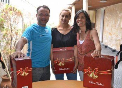 Comienza la entrega de cajas navideñas en el Sindicato de Trabajadores Municipales